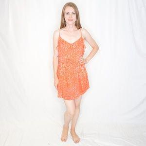 TALULA ARITZIA Ulla Ruffle Mini Dress M NWT 0429